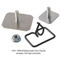 Body Trim Clip Kit -All Body Styles