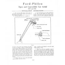 Radio Antenna Assembly - Open Car & Wagon
