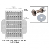 Bed Strip Bolt Kit - Stainless