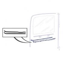 Door Glass Anti-Rattler Set
