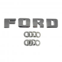 Radiator Grille Panel F-O-R-D Letters