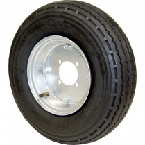 Blackwall Tire and Rim Assembly - 4.75 x 7.75