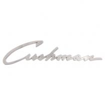 Cushman Script Emblem - Pacemaker & Roadking