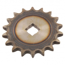 """Output Sprocket - 18 tooth - 9/16"""" Square Hole  - 1946-65 Cushman Scooter"""