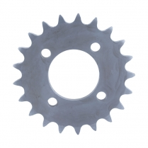 Sprocket - Bolt on - Plate Type Clutch  - 1949-65 Cushman Scooter