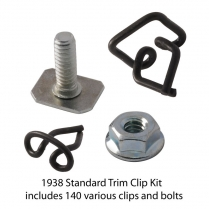 Body Trim Clip Kit - Standard