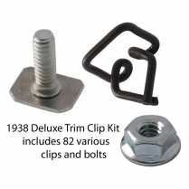Body Trim Clip Kit - Deluxe