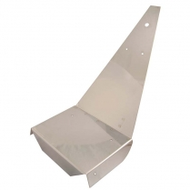 Floor Board - Stainless Steel - Eagles - 1958-65 Cushman Scooter