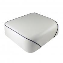 Solo Seat - 50/60 Series - Oyster White  w/ Black Trim