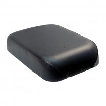 Solo Seat - 715 Deluxe Highlander - Black w/ Black Trim