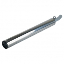 Silver Eagle Muffler and Stainless Cover Assembly
