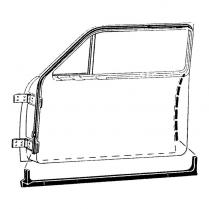 Door Seal Kit - 2 Door Closed Car - 1949-51 Ford Car