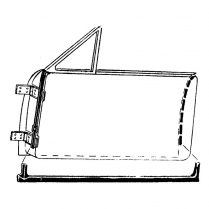 Door Seal Kit - Convertible - 1949-51 Ford Car