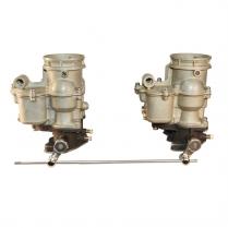 Carburetor & Linkage Kit - 2 Carb set up