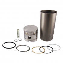 Piston, Ring and Sleeve Kit - Set of 4 - 1939-52 Ford Tractor