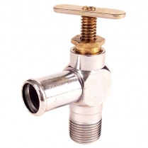 Hot Water Heater - On/Off Valve - 1939-64 Ford Truck, 1939-56 Ford Car