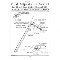 Radio Antenna Assembly - Closed Car