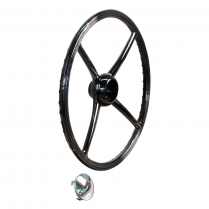 4 Spoke Steering Wheel and Cap