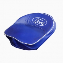 Blue Seat Cover wSilk Screened Ford Logo
