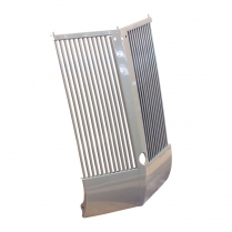 Grille Assembly  w Round Grille Bars