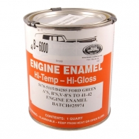 B-6000 HAZ** FORD ENGINE PAINT/GREEN