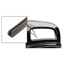 Back Glass Seal - Coupe & Sedan - 1932-39 Ford Truck, 1932-36 Ford Car