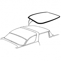 Sun Roof Rubber - 1955-56 Ford Car