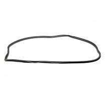 Back Glass Seal - with Groove for Chrome - Victoria, Club Sedan, Mainline & Customline Sedans