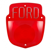 Taillight Lens - Ford - Block Letters
