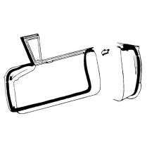 Door Seal Kit - Thunderbird - Hardtop & Convertible