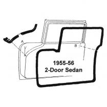 Door Seal Kit - 2 Door Closed Car