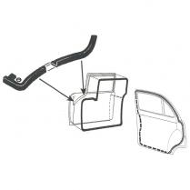 Door Seal Kit - 4 Door Sedan