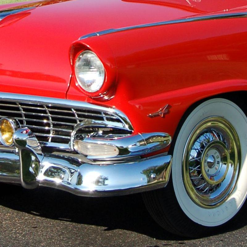 Parklight Housings | 1956 Ford Car