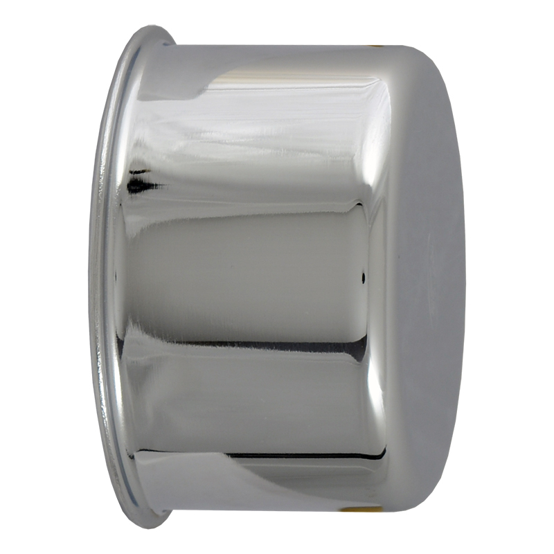 Oil Filler/Breather Cap - Push On - Chrome - 1957-67 Ford Truck, 1966-67 Ford Bronco, 1957-67 Ford Car