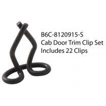 Door Stainless  Retainer Clip Set