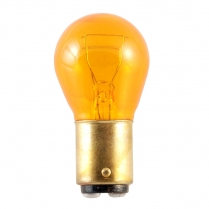 Bulb - Amber - Glass - #194 - 12 Volt - 1956-66 Ford Truck, 1966-77 Ford Bronco, 1956-59 Ford Car