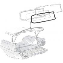 Back Glass Seal - 2 & 4 Door Ranch Wagon