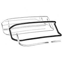 Back Glass Seal - 2 Door Hardtop, Town & Club Sedan
