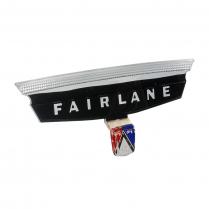 Deck Lid Emblem Plastic