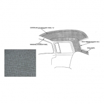 Headliner Kit Non Perforated