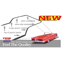 Weather Stripping Kit for Convertible Top | 1958-60 Ford Thunderbird