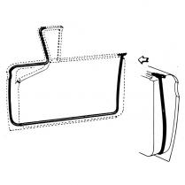 Door Seal Kit - Hardtop & Convertible