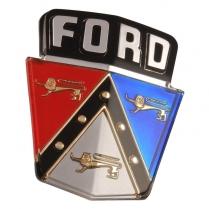 Hood Emblem - 1952-54 Ford Car