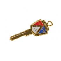 Key Blank - Ignition & Door - Anniversary Crest