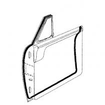 Door Seal Kit - Hardtop & Convertible - 1952-54 Ford Car