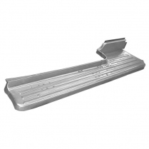 Running Board Steel Left Hand - 1953-56 Ford Truck