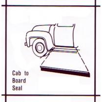 Running Board Seal