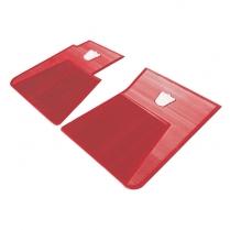 Front Floor Mats - Red