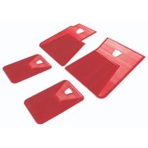 Floor Mats - Set of 4 Red