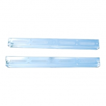 Door Scuff Plates - 2 Door - Pair -Galaxie